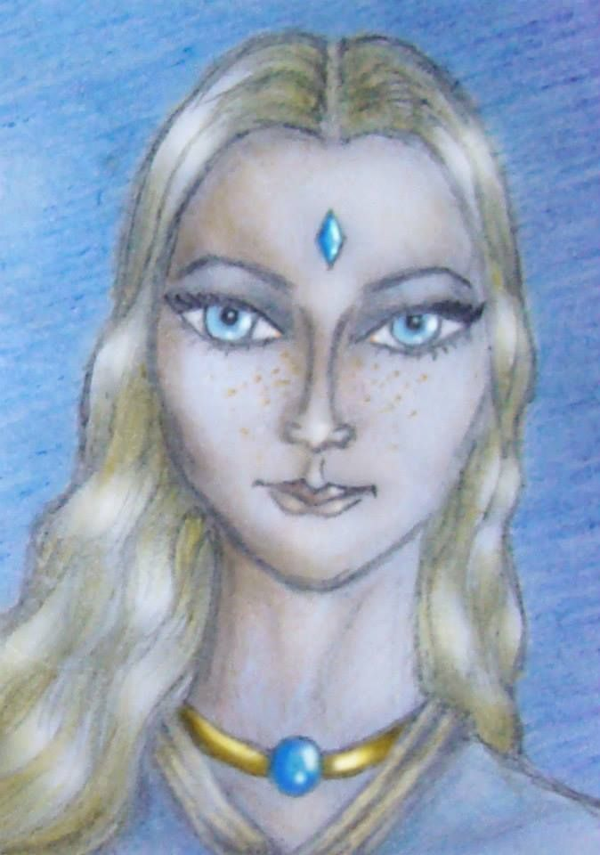 pleiadian woman portrait by Calivander on DeviantArt ...
