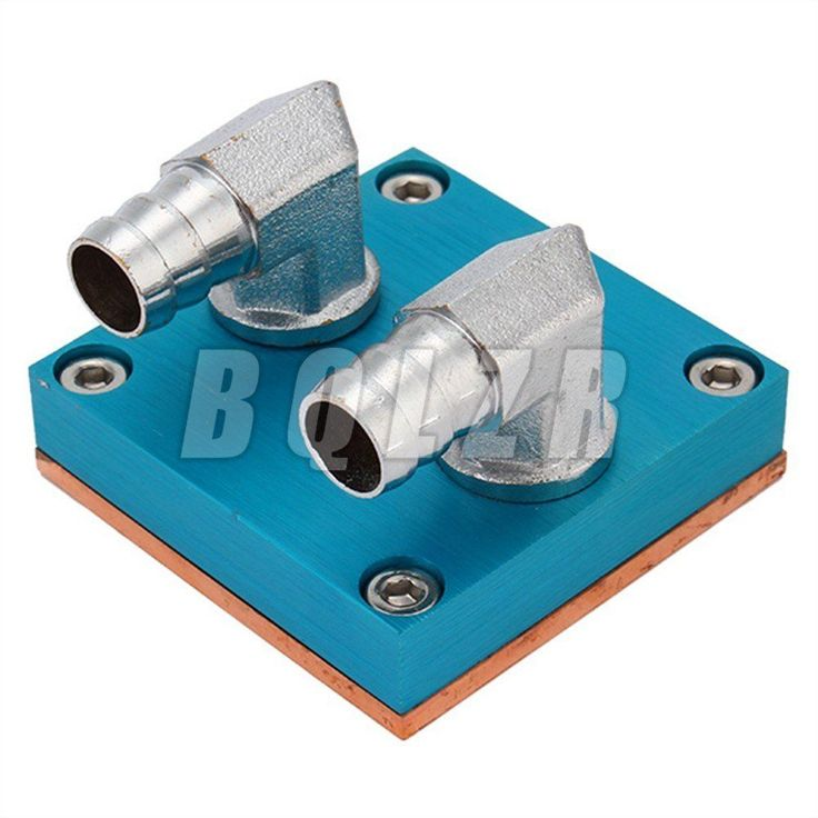 BQLZR Waterblock CPU Cooler With Thick Pure Copper Base Blue | eBay
