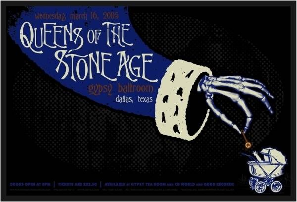 Queens of The Stone Age Dallas Texas by Todd Slater