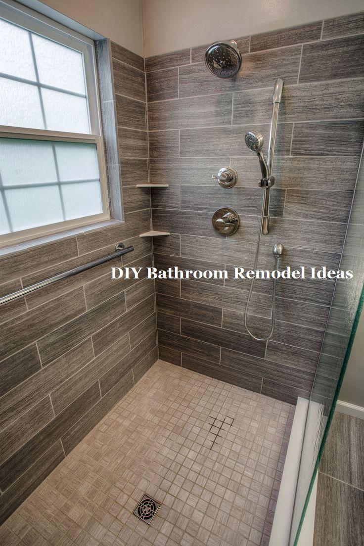 Great Easy Diy Bathroom Remodeling Makeover Smallbathroom Bathroom Remodel Shower Shower Remodel Shower Makeover