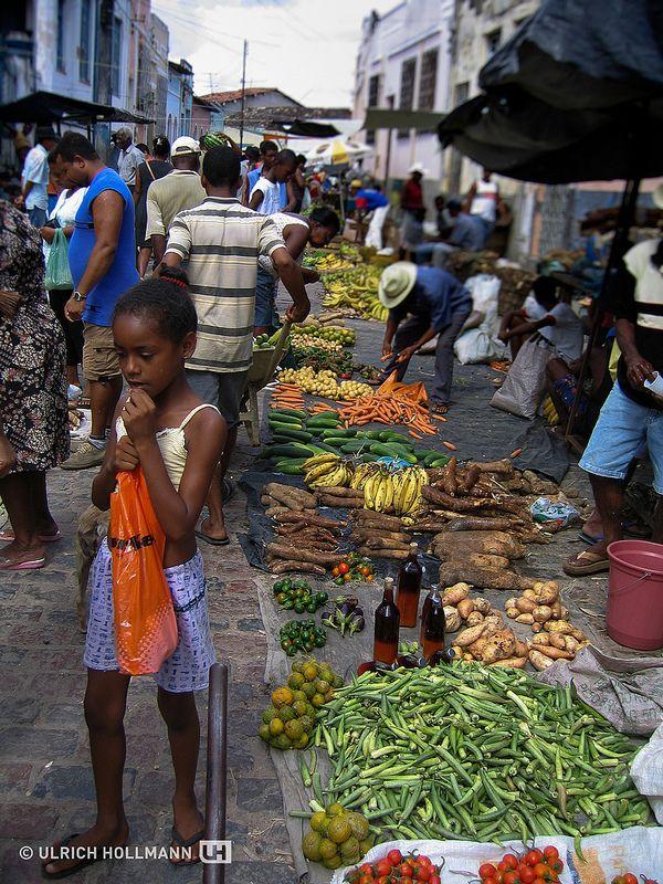 market in Cachoeira, Bahia, Brazil