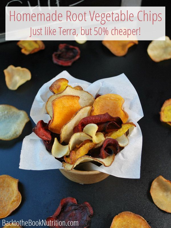 Recipe: Homemade Root Vegetable Chips (Just Like Terra!) | http://dontwastethecrumbs.com/2014/10/recipe-homemade-root-vegetable-chips-just-like-terra/