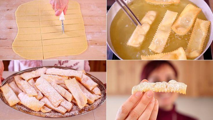 Chiacchiere, frappe, bugie, tanti nomi per questi dolci di carnevale buonissimi e semplicissimi da preparare. Dolci tradizionali fritti o al forno