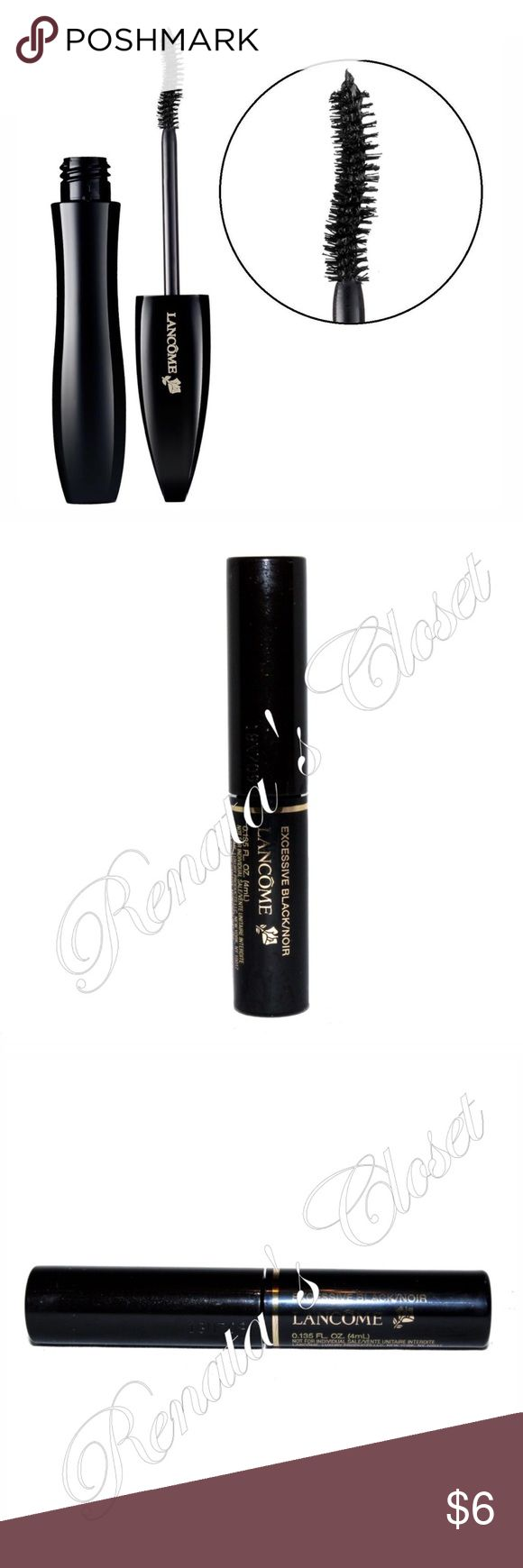 🌸 2 for $12 Deal Hypnose Drama FB Vol Mascara Buy this & another item from the 2 for $12 Deal. Offer $12 on the OFFER section.  * shade - EXCESSIVE BLACK/NOIR * weight - 4ml/0.135 fl oz * 2 ml less than the full size w/c sells for $27.50 * valued at $18.35 * unused but opened to take a picture * stock photo provided to show color & inside of the item * watermarked photos are of the actual item * smoke-free home * videotaped to protect seller from fraudulent claims Lancome Makeup Mascara