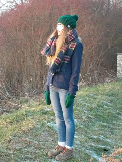 Wełniana Owieczka: Na zimowe chłody komplecik - czapka i szalik