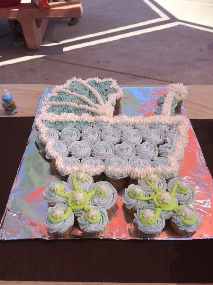 Baby Stroller Cake