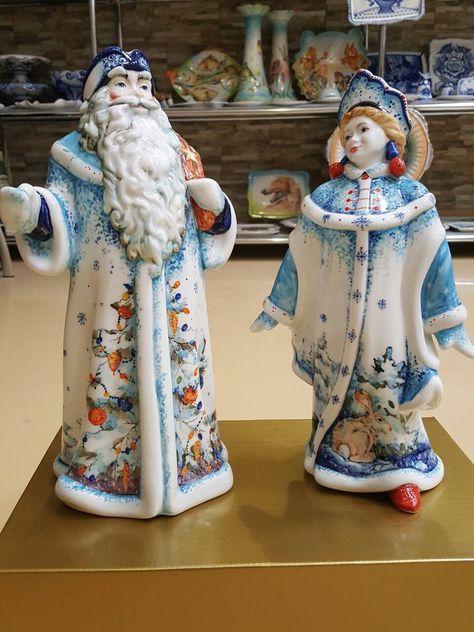 Купить Дед Мороз и Снегурочка - Новый Год, подарок, Дед Мороз и Снегурочка