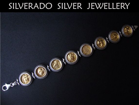 Ancient Greek Replica Sterling Solid Silver by SilveradoJewellery, €160.00