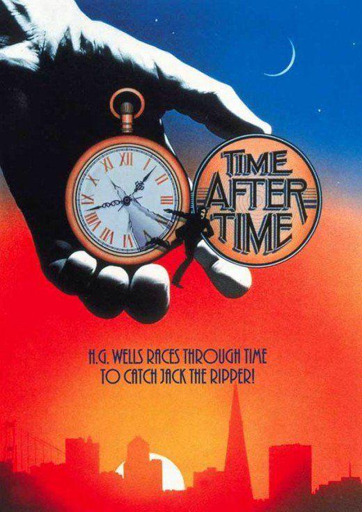 Time After Time (1979) Director by Nicholas Meyer. 112mins.    Malcolm McDowell - Herbert George Wells  David Warner - John Leslie Stevenson  Mary Steenburgen - Amy Robbins  Charles Cioffi - Lt. Mitchell  Patti D'Arbanville - Shirley  James Garrett - Edwards