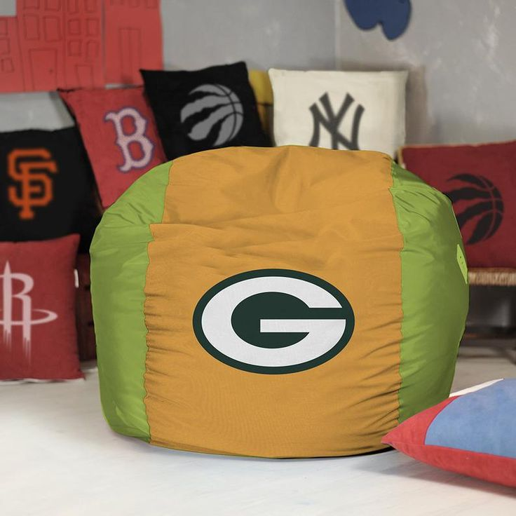 Green bay packers bean bag chair cover nfl bean bag super