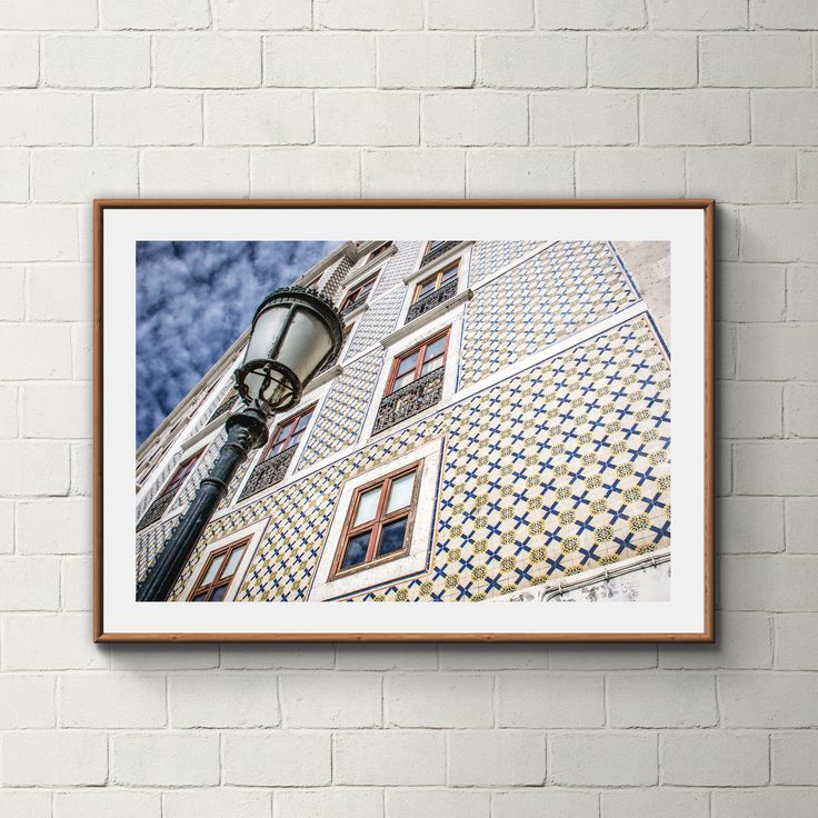 029_PrintAzulejos, Azulejos, Poster, Wall, Printable, Portugal, Pattern, Tiles, Photography, Instant download