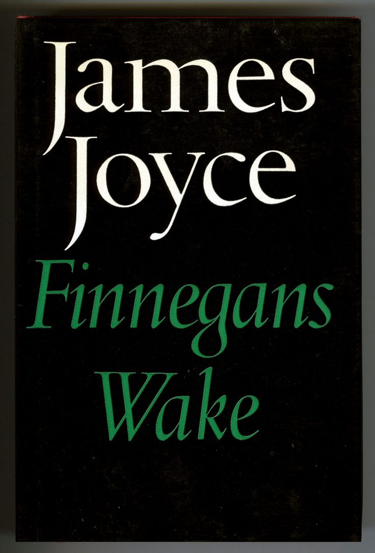 James Joyce, Finnegans Wake, Faber and Faber, London, 1964, Third Edition