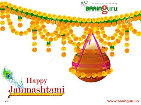 May Lord Krishna's flute invite the melody of love into your life. May Radha's love teach not only how to love but to love eternally. Happy Krishna Janmashtami !! #Brainguru #HappyJanmashtami www.brainguru.in