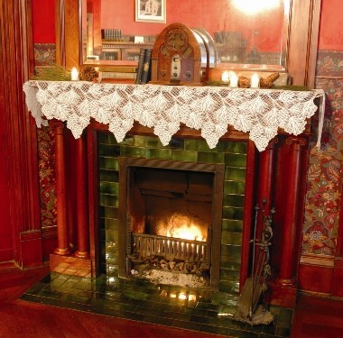 37 Best Mantle Scarf Images On Pinterest Christmas