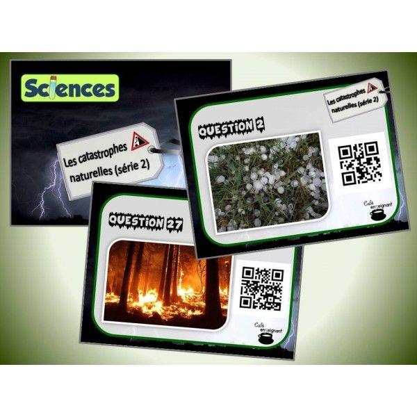 Cartes à tâches : Catastrophes naturelles 2 (QR)