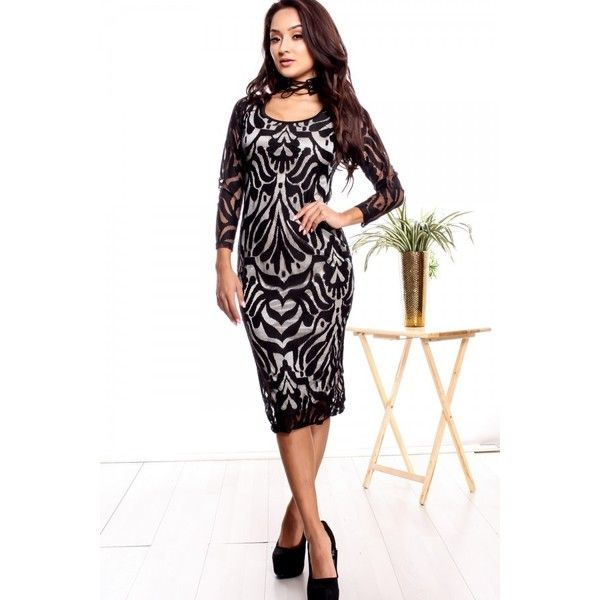 Black sheer pattern bodycon dress ($16) ❤ liked on Polyvore featuring dresses, 2 piece dress, black party dresses, little black dresses, mini party dresses, sexy black dresses, sexy little black dresses, 2 piece bodycon dress, two piece bodycon dresses and sexy sheer dress