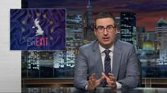 John Oliver Offers His Opinion of the British In-Out Referendum With a Barber Shop Quartet