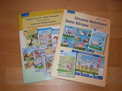 materialwiese: KOSTENLOS: Medizini Materialmappen für die Grundschule