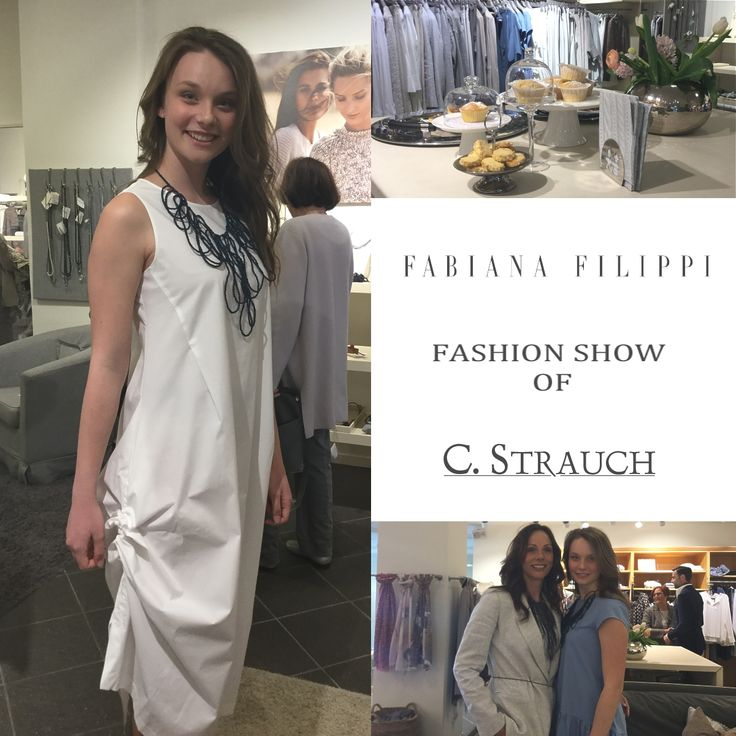 Fabiana Filippi fashion show of C. Strauch took place on 12th of april - the highlights on YouTube  https://www.youtube.com/watch?v=HO20CV9mV80