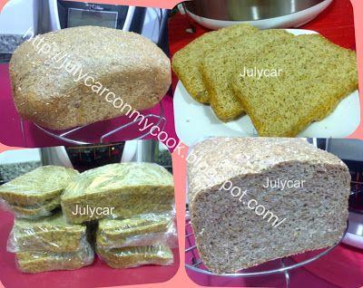Recetas Dukan By Julycar: Pan de salvados y gluten Julycar  (versión simple)...