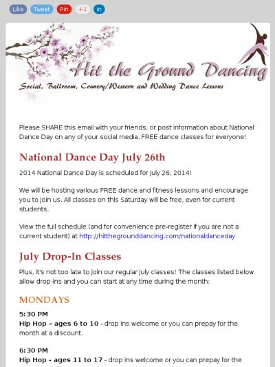 Free dance classes on National Dance Day July 26 in Fort Worth
