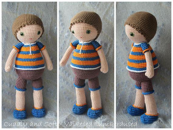 Amigurumi Boy Doll Pattern : 98 best amigurumi cuddly and soft images on pinterest amigurumi