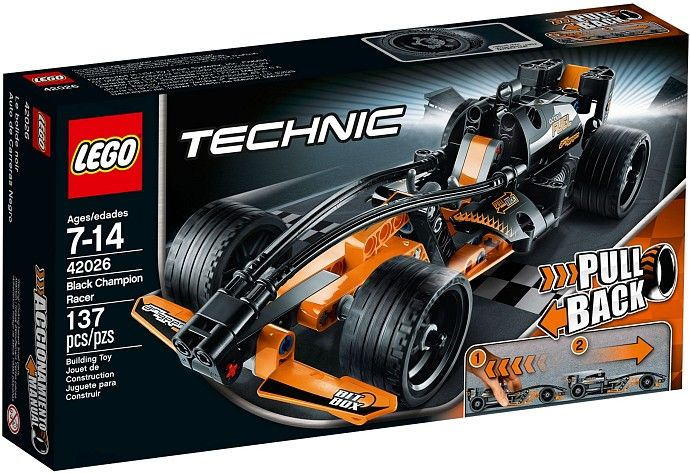 Coche De Carreras Negro;  Las suaves líneas del diseño de este Coche de Carreras Negro de Lego Technic nos sugieren principalmente una cosa: ¡velocidad! Este bólido con sistema de retroceso hará que subas a lo más alto del podio de todas las competiciones en las que participes. Si combinas este modelo con el 42027 ¡podrás construir un potente camión de dos motores!... En   http://www.opirata.com/coche-carreras-negro-p-26180.html