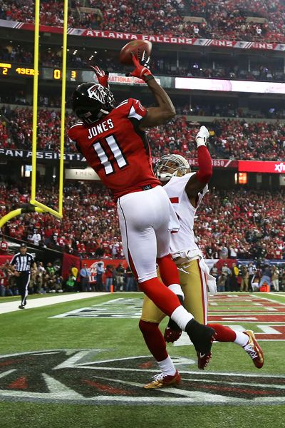 ATLANTA, GA - JANUARY 20:  Wide receiver Julio Jones