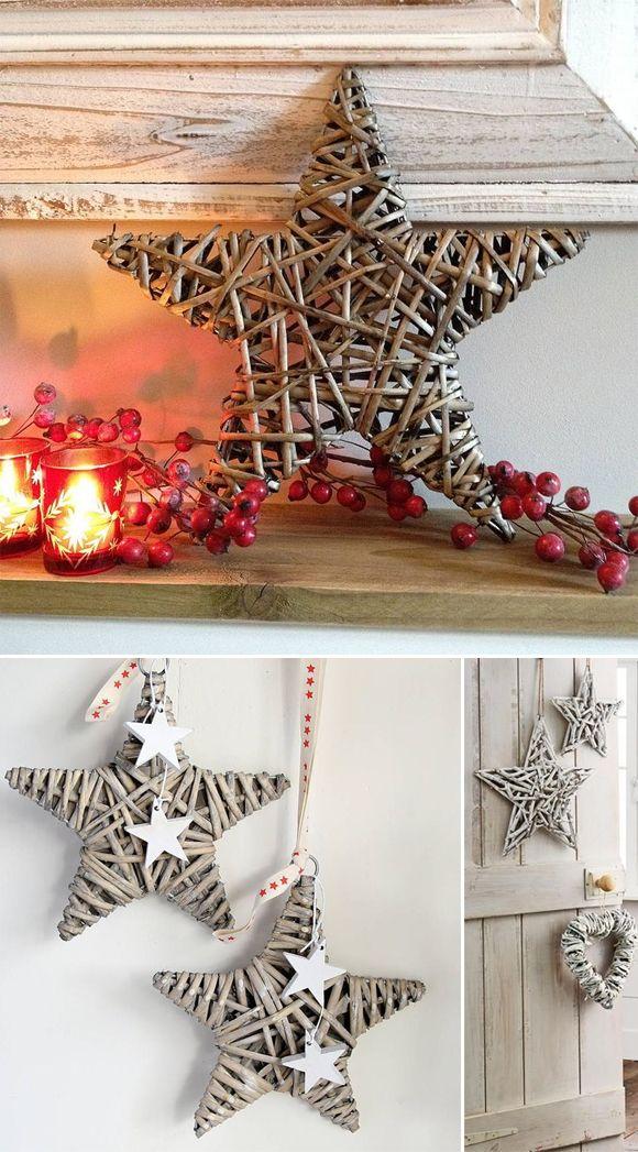 M s de 25 ideas incre bles sobre estrellas de navidad en - Decorar estrella navidad ...
