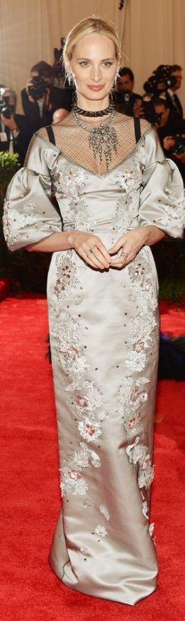 Lauren Santo Domingo, in Dolce & Gabbana Alta Moda, with Eddie Borgo jewels. Met Gala 2013  | The House of Beccaria #