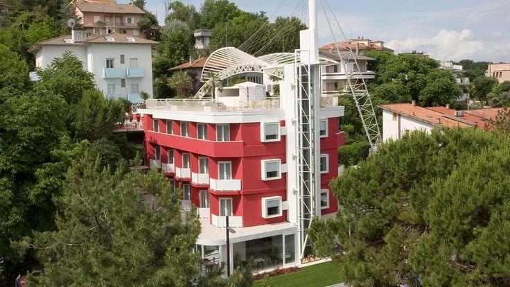 Design e Innovazione al centro di un parco naturale: Du Parc Hotel Gabicce Mare (PU).  #StudioRuggeroPulga #Progettazione