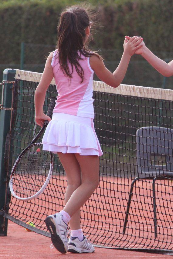 Wimbledon Tennis Outfit Meisjes Tennis kleding door ZoeAlexanderUK