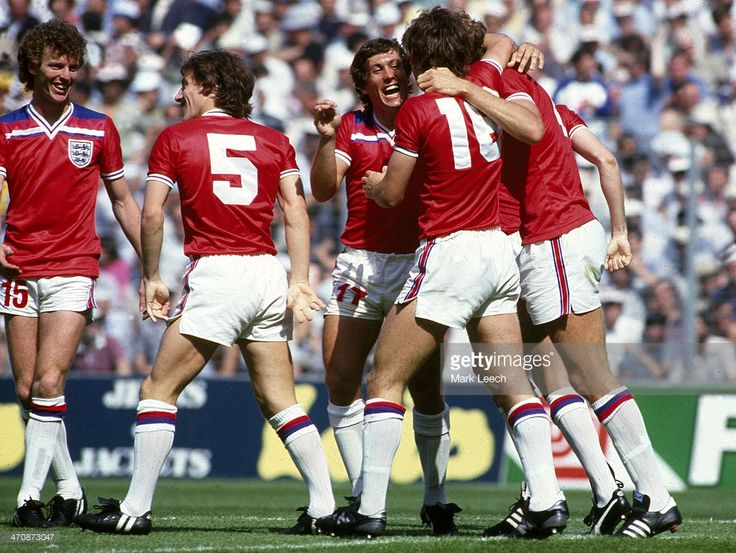 June 1982 FIFA World Cup England v France Graham Rix Steve Coppell... News Photo | Getty Images