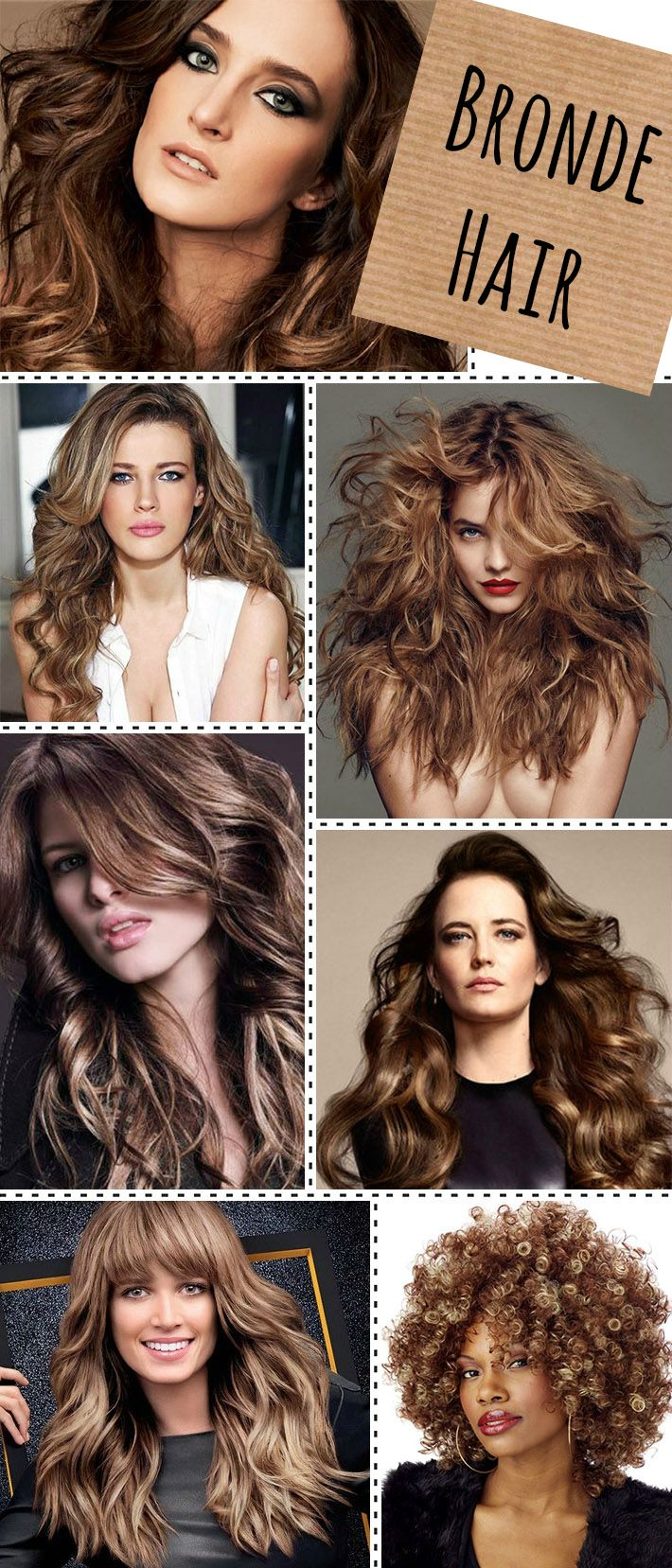 The hair color trend this year is all about the Bronde...not quite blonde, but not quite brunette. #hairtrend #edgesalon #hairstylistoviedo