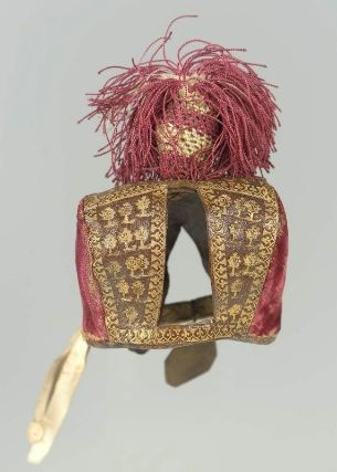 Falcon's hood, 17th century.