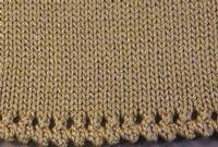 Picot and Eyelet Hem Tutorial For Machine - Single Bed   Machine Knitting Tutorial