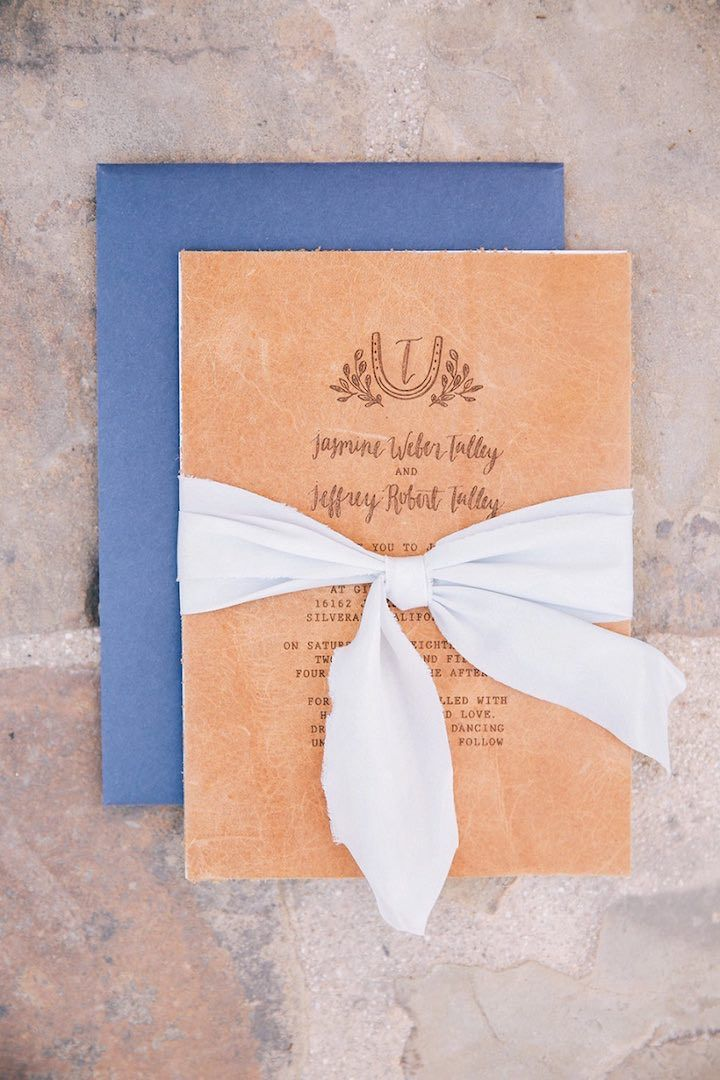 interesting wedding invitation messages%0A Wedding Invitation Inspiration  Photo  Brandon Kidd Photography