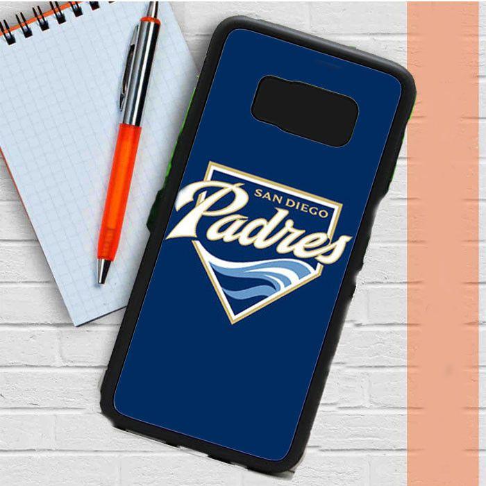 Sandiego Padres Baseball Logo Blue Samsung Galaxy S8 Plus Case Casefreed