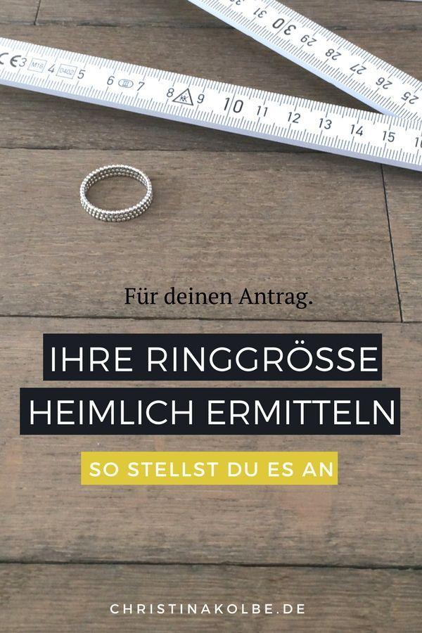 wie findet man die richtige ringgröße