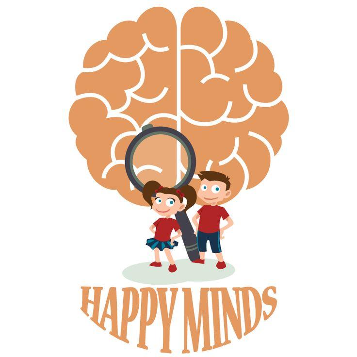 Λογότυπο HAPPY MINDS ► Ψυχοπαιδαγωγικά Κέντρα στον Χολαργό και τη Σαρωνίδα.