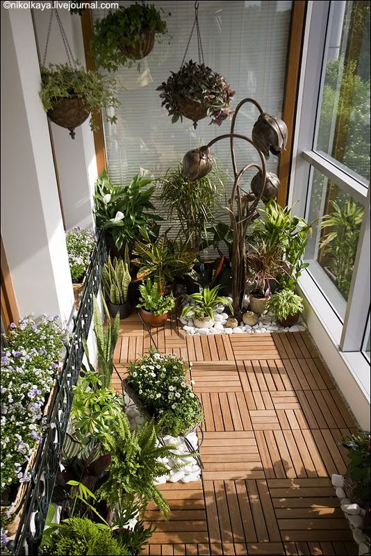 i would love to do this with my balcony