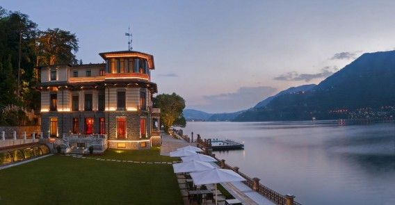 Enjoy magnificent Lake Como this Fall at Casta Diva Resort & Spa