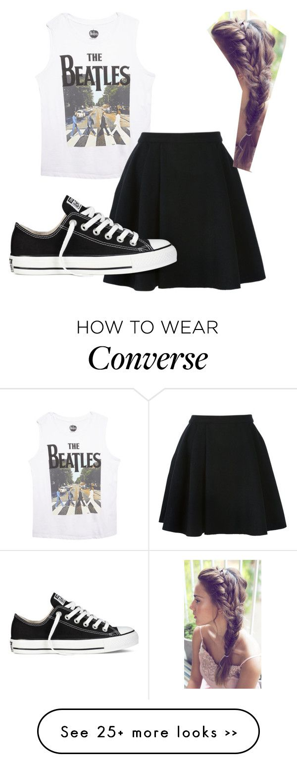 """Untitled #211"" by catipp on Polyvore featuring moda, Wet Seal, Avelon e Converse"