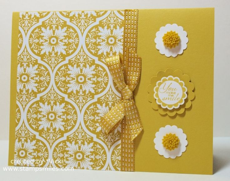 Starfruit Smile by basement stamper - Cards and Paper Crafts at Splitcoaststampers