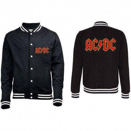 Geaca Varsity AC/DC: Classic Logo