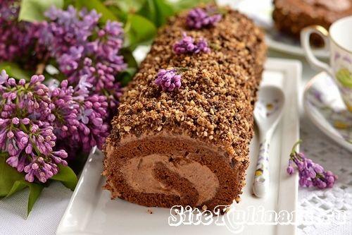 Предлагаю вашему вниманию необыкновенно вкусный бисквитный рулет. Рецепт сегодняшнего шоколадного рулета очень прост, поскольку он состоит из шоколадного бисквита и нежного шоколадного крема. Так что смело можно сказать, что вы получите в результате ...