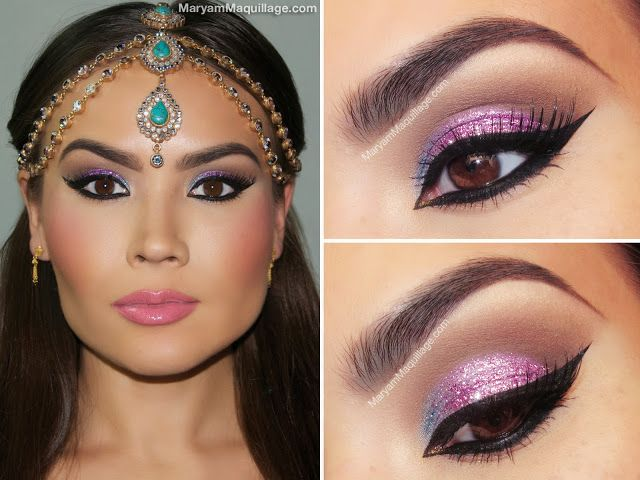 Maryam Maquillage: Fit for a Queen: Exotic Makeup & Headpiece