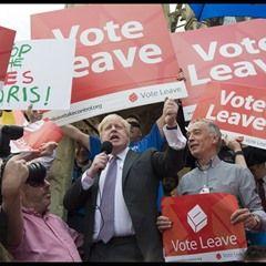 Boris Johnson makes a speech on his visit to Winchester