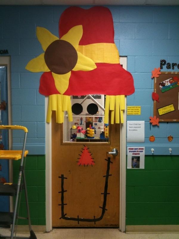November Classroom Decoration Ideas ~ My nov classroom door got the idea from pintrest
