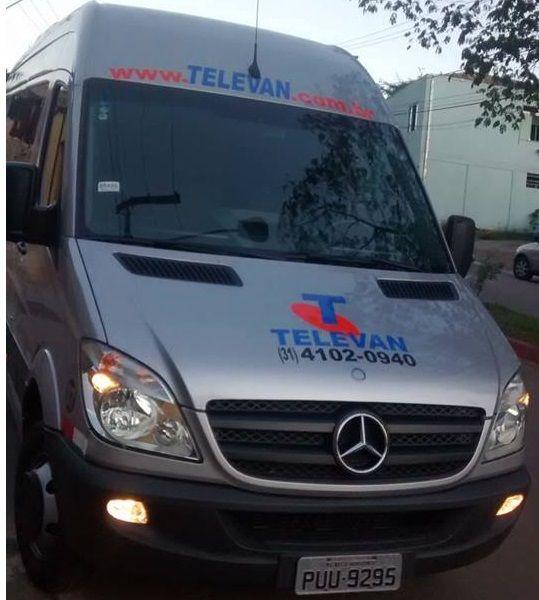 Transporte de Vans e Micro Ônibus ao Aeroporto Confins MG